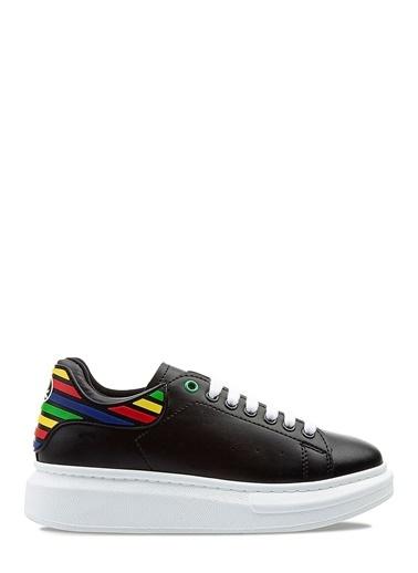 Benetton Bn30135 Kadın Spor Ayakkabı Siyah